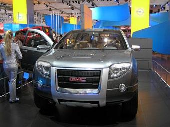 GMC показал прототип экономичного Chevrolet Tahoe