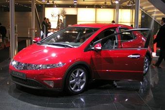 Во Франкфурте представлена новая Honda Civic