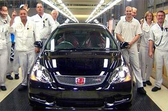 В Великобритании выпущен последний Honda Civic Type-R