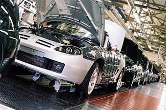 MG Rover возобновит производство автомобилей в 2006 году