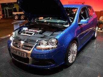 VW Golf R32 не стал мощнее, но стал совершеннее