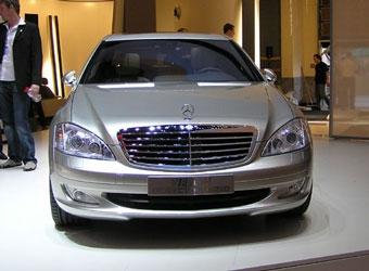 Mercedes показал S-class с электродвигателем