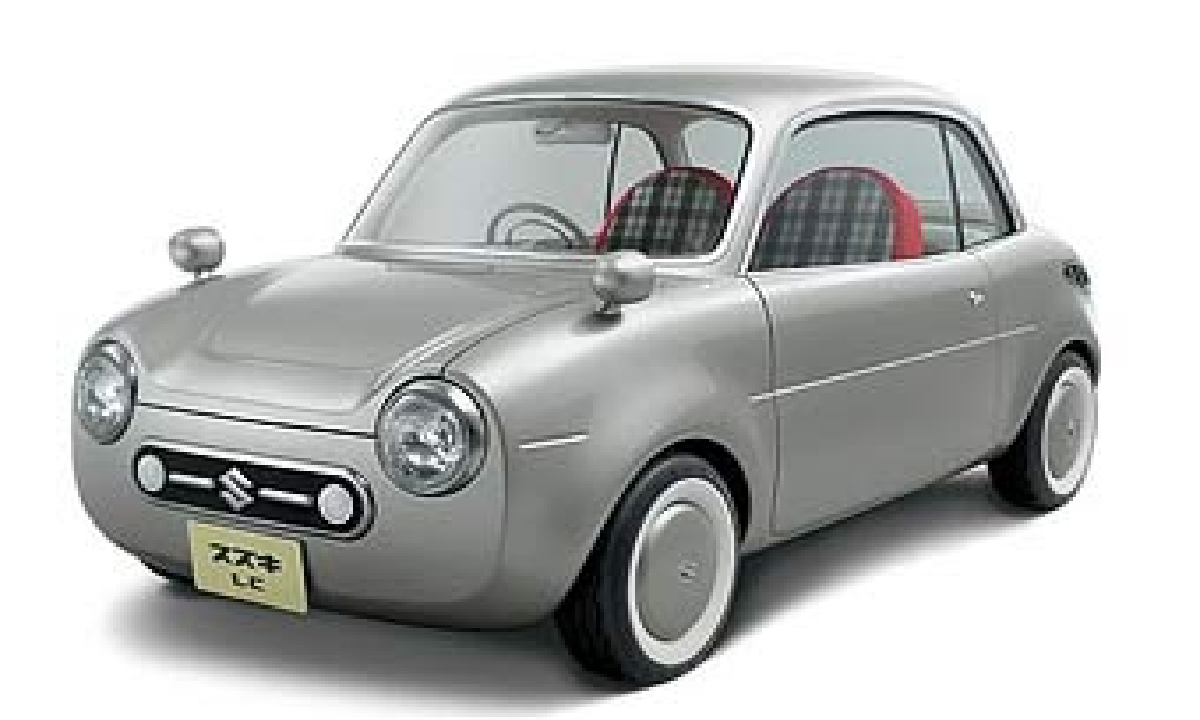 Suzuki покажет стильный ретро-кар