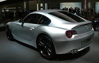 BMW показала прототип купе на базе BMW Z4