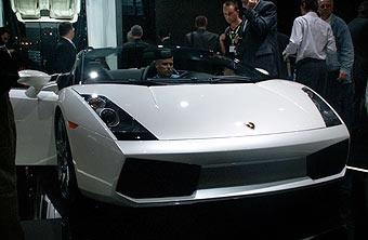 Состоялась премьера Lamborghini Gallardo Spider