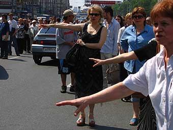 Авария превратила юг Москвы в пешеходную зону