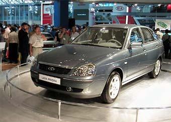 Производство модели Lada Priora начнется в 2006 году