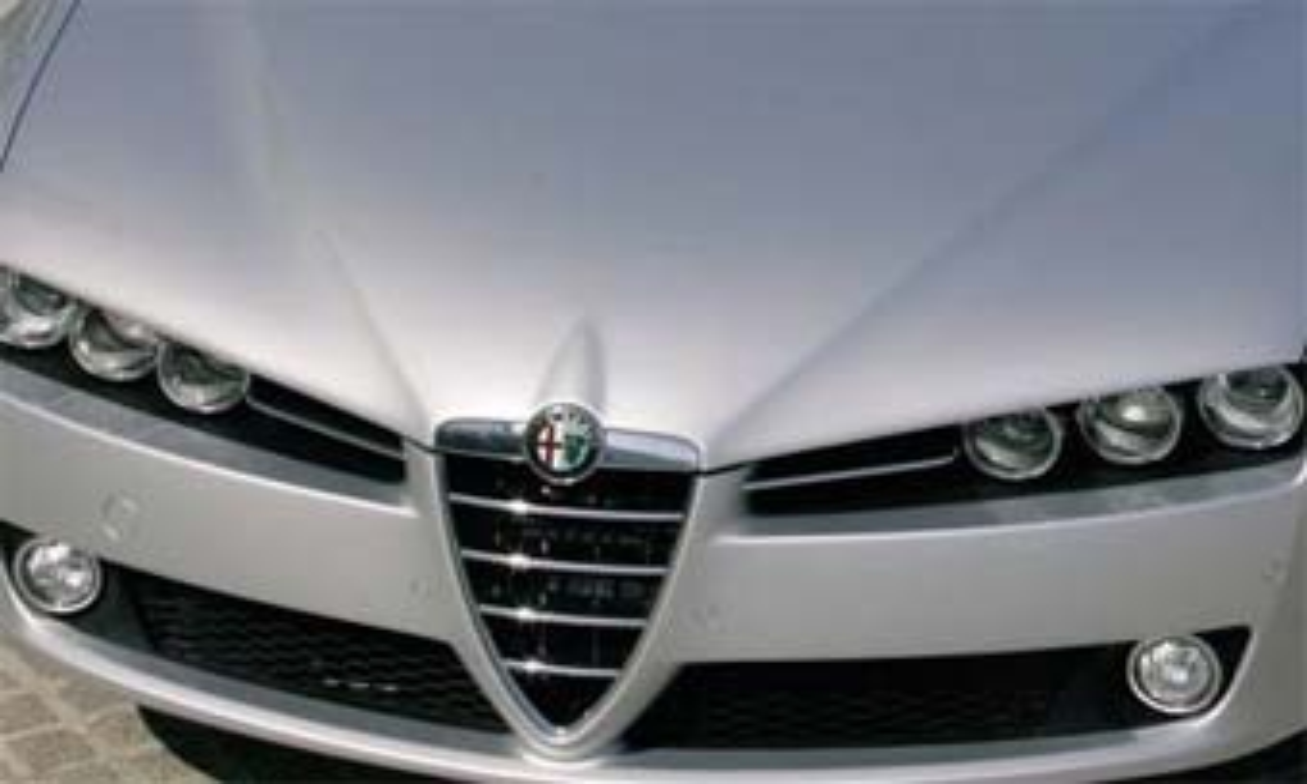 """""""Заряженная"""" версия Alfa Romeo 159 появится в 2007 году"""