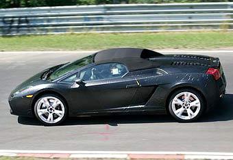 Открытая версия Lamborghini Gallardo заканчивает тесты