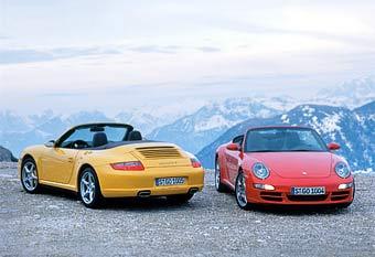 Кабриолет Porsche 911 получает полный привод