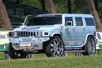 Geiger имплантировал в Hummer H2 мотор от Chevrolet Corvette