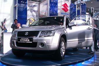 Продажи обновленного Suzuki Grand Vitara в России стартуют осенью