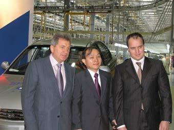 В Ижевске началась сборка автомобилей Kia Spectra