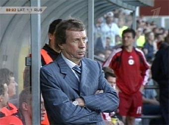 Футбольная сборная России сыграла вничью с командой Латвии