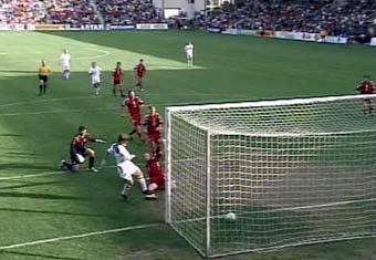 Первый тайм матча сборных России и Латвии закончился вничью - 1:1