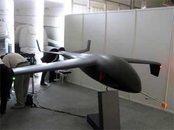 На МАКСе показали российский беспилотный самолет-невидимку