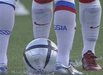 Начался футбольный матч между сборными России и Латвии