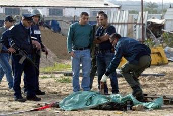 Израильтянин расстрелял палестинцев рядом с еврейским поселением