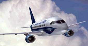 Новый российский самолет RRJ полностью оцифровали