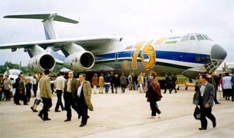 Король Иордании Абдулла II купил на МАКСе два Ил-76
