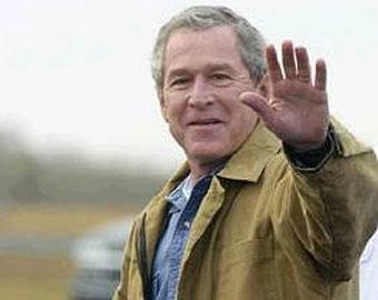В отпуске Буш читает Радзинского