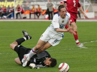 Перед матчем с Латвией сборная России поднялась в мировом рейтинге