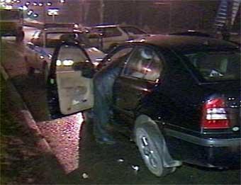 На выезде из тоннеля шесть машин врезались друг в друга
