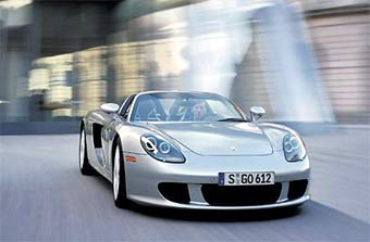 На Porsche собрали 1111-ый суперкар Porsche Carrera GT