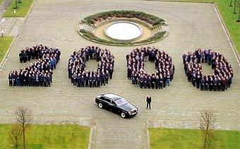 Rolls-Royce отпраздновал выпуск двухтысячного седана Phantom