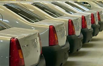 В России выпущен 10-тысячный Renault Logan