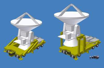 Астрономы заказали для радиотелескопов горные сверхгрузовики