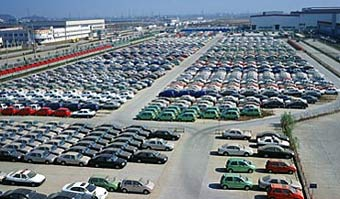 Китай превращается в крупного экспортера автомобилей
