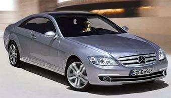 Новое поколение Mercedes CL покажут весной будущего года