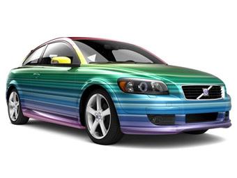 Volvo будет обклеивать C30 цветной пленкой