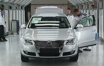 """""""Дочка"""" VW подписала соглашение о выпуске в России автокомпонентов"""