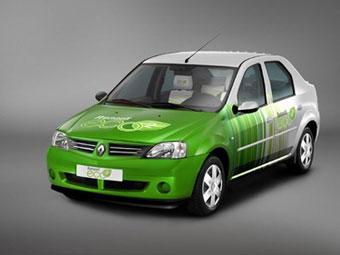 """Renault представила """"экологически чистый"""" Logan"""