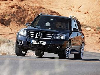Новый кросовер Mercedes-Benz GLK показали до Пекинского салона