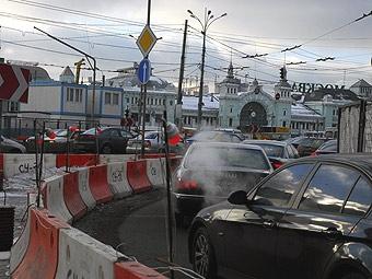 Около 80 процентов дорог Москвы исчерпали пропускную способность