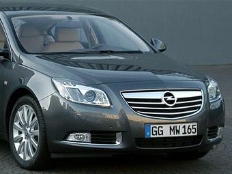 Фотографии Opel Insignia попали в прессу