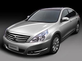 Компания Nissan показала в Китае новую Teana