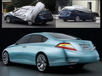 Новый седан Nissan готов к премьере