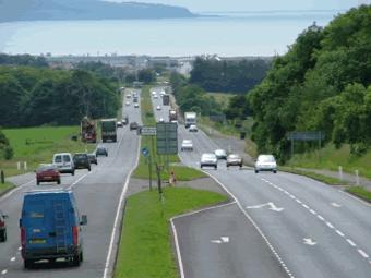 На дорогах Великобритании могут появиться платные полосы