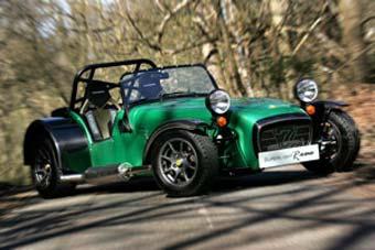 Caterham представил легкий и мощный спорткар