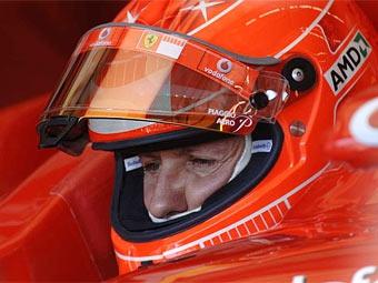 Шумахер проведет тесты для Ferrari