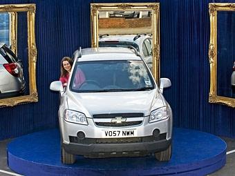 """Chevrolet создал первую в мире автомобильную """"примерочную"""""""