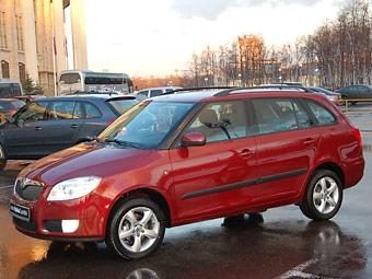 В России начались продажи новой Skoda Fabia Combi