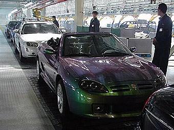 Китайцы не смогли наладить производство родстера MG TF в Великобритании