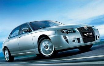 Продажи китайских седанов MG в Европе начнутся в конце 2007 года