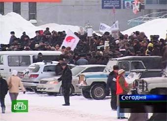 """Во Владивостоке автомобилисты протестуют против запрета """"правого руля"""""""