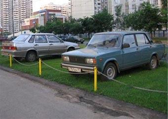 Автолюбителей оштрафовали за загрязнение Москвы